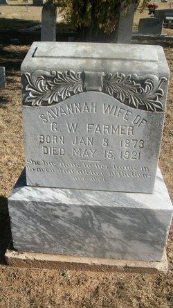 Savannah <I>Anderson</I> Farmer