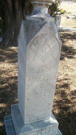 J. M. Anderson