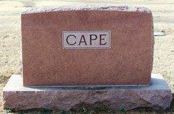 """Mary Florence """"Mollie"""" <I>McDaniel</I> Cape"""