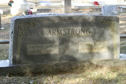Josephine Myrtle <I>Newton</I> Armstrong