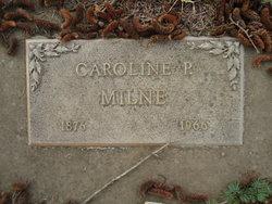 Caroline Permelia <I>Merriam</I> Milne