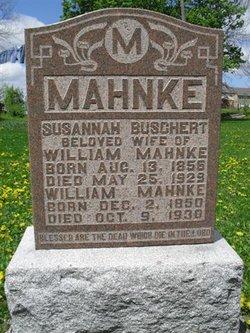 Susanna <I>Buschert</I> Mahnke