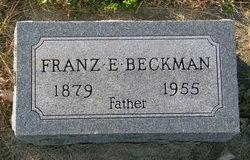 Franz E Beckman