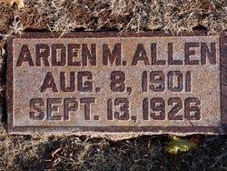 Arden M Allen