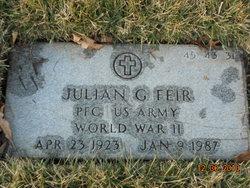Julian G Feir