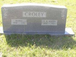 Madge <I>Jordan</I> Croley