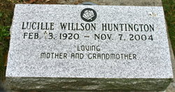 Lucille <I>Willson</I> Huntington