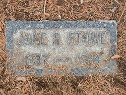 """Jane G """"Jennie"""" Stowe"""