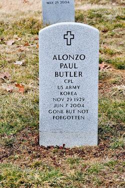 Alonzo Paul Butler
