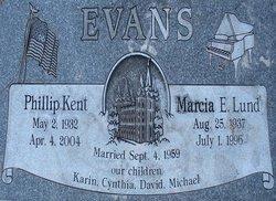 Marcia Ellen <I>Lund</I> Evans