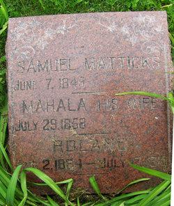 Samuel Matticks