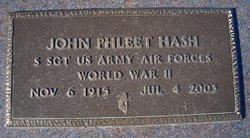 John Phleet Hash