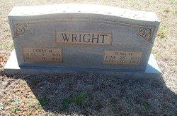 Pearl <I>Hudgens</I> Wright