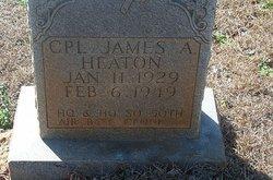 CPL James A. Heaton