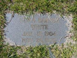 Cora <I>Barnes</I> White