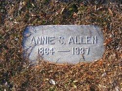 Annie <I>Simpson</I> Allen