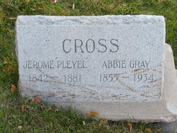 Abbie <I>Gray</I> Cross