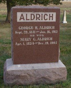 Mary <I>Goodale</I> Aldrich