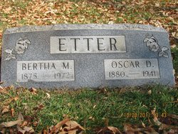 Bertha May <I>Eagles</I> Etter