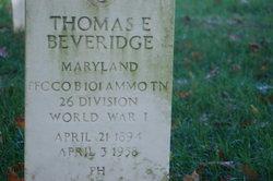 Thomas Edward Beveridge