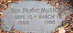 Benjamin Franklin Musick