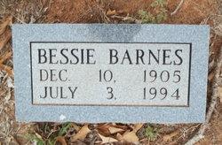 Bessie Barnes