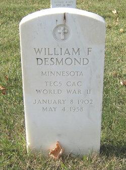 William F Desmond