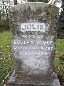 Julia Ann <I>Drown</I> Boyce