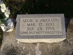 Algie B Amerson