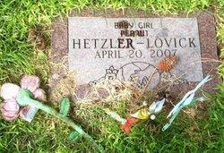 Baby Girl Peanut Hetzler-Lovick