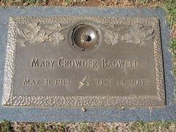 Mary Helen <I>Crowder</I> Bagwell