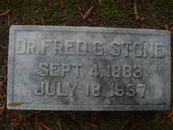 Dr Fred G. Stone
