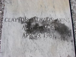 Clayton Jackson Akins