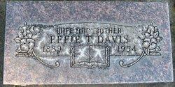 Effie T. Davis