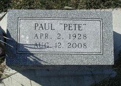 """Paul E. """"Pete"""" Hibbs"""