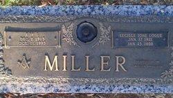 Lucille Ion <I>Logue</I> Miller