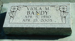 Viola Maxine <I>Sharp</I> Bandy