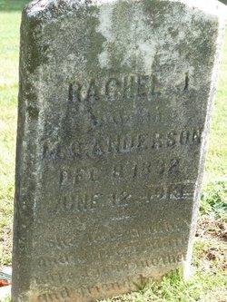 Rachel J <I>Scoggins</I> Anderson