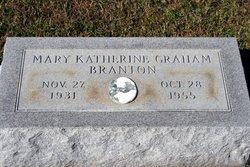 Mary Katherine <I>Graham</I> Branton