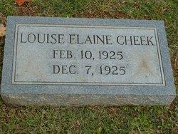 Louise Elaine Cheek
