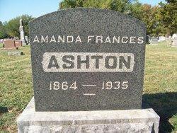Amanda Frances <I>Davis</I> Ashton
