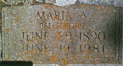 Maria A. <I>Schmidt</I> Alberthal