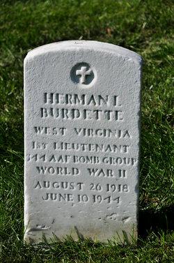 1LT Herman L Burdette
