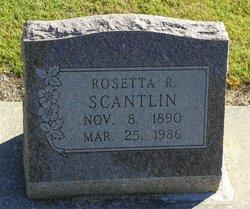 Rosetta R. <I>Ruby</I> Scantlin