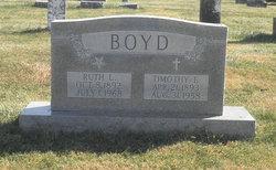 Ruth L. <I>Gardner</I> Boyd