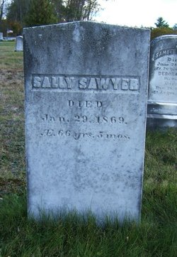 "Sarah ""Sally"" <I>Hobbs</I> Sawyer"