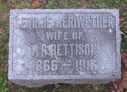 "Georgia ""Georgie"" <I>Meriwether</I> Bettison"