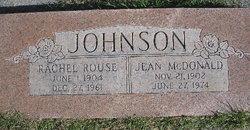Rachel <I>Rouse</I> Johnson