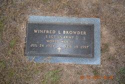 Winfred Lesham Browder