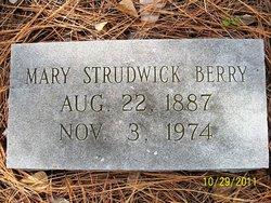 Mary <I>Strudwick</I> Berry